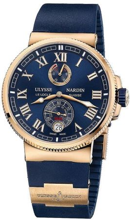 Ulysse Nardin Marine Chronometer Manufacture 43mm  Men's Watch 1186-126-3/43