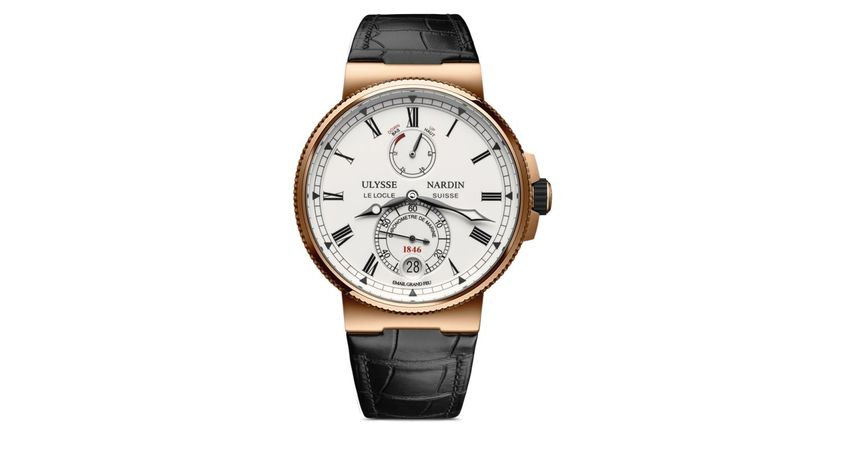 Ulysse Nardin Marine Chronometer  Men's Watch 1186-126/E0