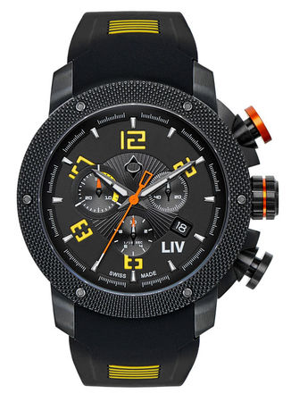 LIV Genesis X1   Men's Watch 1210.45.13.SRB500