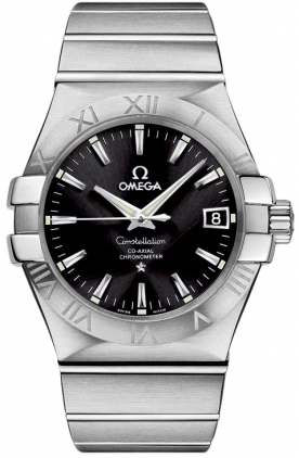 Omega Constellation Automatic Chronometer 35mm  Men's Watch 123.10.35.20.01.001