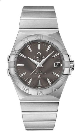 Omega Constellation Automatic Chronometer 35mm  Men's Watch 123.10.35.20.06.001