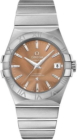 Omega Constellation Automatic Chronometer 35mm  Men's Watch 123.10.35.20.10.001