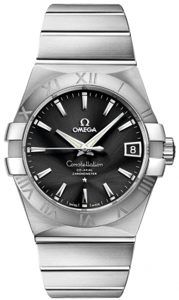 Omega Constellation Automatic Chronometer 38mm  Men's Watch 123.10.38.21.01.001
