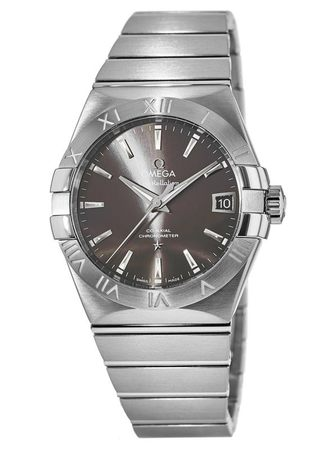 Omega Constellation Automatic Chronometer 38mm  Men's Watch 123.10.38.21.06.001