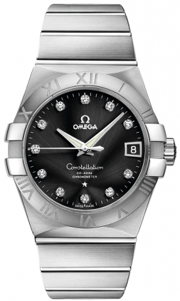 Omega Constellation Automatic Chronometer 38mm  Men's Watch 123.10.38.21.51.001