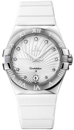 Omega Constellation Quartz 35mm  Women's Watch 123.12.35.60.52.001