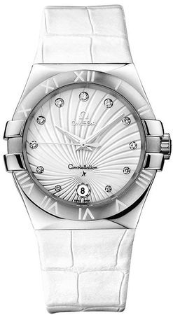 Omega Constellation Quartz 35mm  Women's Watch 123.13.35.60.52.001