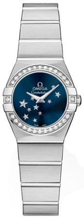 Omega Constellation Star 24mm  Women's Watch 123.15.24.60.03.001