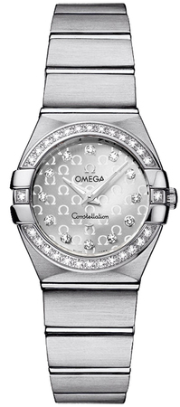 Omega Constellation Brushed Quartz 24mm  Women's Watch 123.15.24.60.52.001