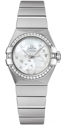 Omega Constellation Automatic Chronometer 27mm  Women's Watch 123.15.27.20.05.001
