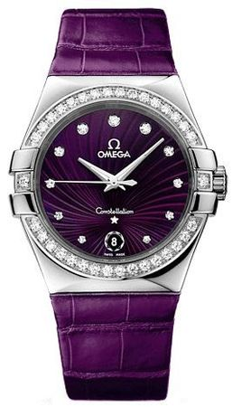 Omega Constellation Quartz 35mm  Women's Watch 123.18.35.60.60.001