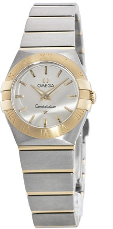 Omega Constellation Brushed Quartz 24mm  Women's Watch 123.20.24.60.02.002