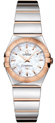 Omega Constellation Polished Quartz 24mm  Women's Watch 123.20.24.60.05.003
