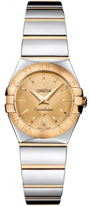 Omega Constellation Polished Quartz 24mm  Women's Watch 123.20.24.60.08.002