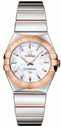 Omega Constellation Polished Quartz 27mm  Women's Watch 123.20.27.60.05.003