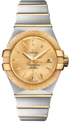Omega Constellation Automatic Chronometer 31mm  Women's Watch 123.20.31.20.08.001