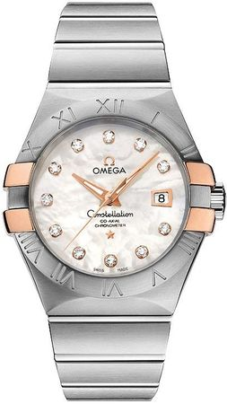 Omega Constellation Brushed Chronometer 31mm  Women's Watch 123.20.31.20.55.003