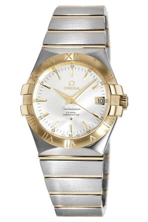Omega Constellation Automatic Chronometer 35mm  Men's Watch 123.20.35.20.02.002