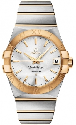 Omega Constellation Automatic Chronometer 38mm  Men's Watch 123.20.38.21.02.002