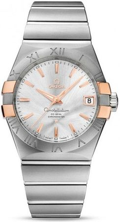 Omega Constellation Automatic Chronometer 38mm  Men's Watch 123.20.38.21.02.004