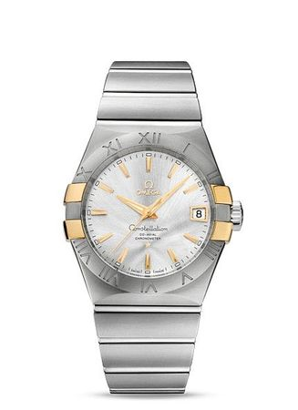 Omega Constellation Automatic Chronometer 38mm  Men's Watch 123.20.38.21.02.005