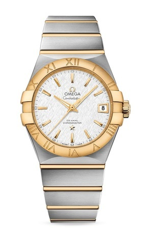 Omega Constellation Automatic Chronometer 38mm Steel And Yellow Gold Men's Watch 123.20.38.21.02.006