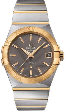 Omega Constellation Automatic Chronometer 38mm  Men's Watch 123.20.38.21.06.001
