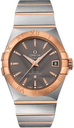 Omega Constellation Automatic Chronometer 38mm  Men's Watch 123.20.38.21.06.002