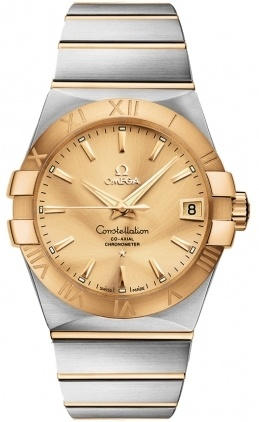 Omega Constellation Automatic Chronometer 38mm  Men's Watch 123.20.38.21.08.001
