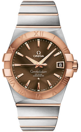 Omega Constellation Automatic Chronometer 38mm  Men's Watch 123.20.38.21.13.001
