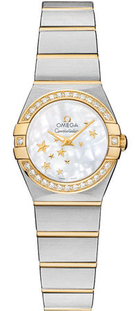 Omega Constellation Star 24mm  Women's Watch 123.25.24.60.05.001