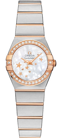 Omega Constellation Star 24mm  Women's Watch 123.25.24.60.05.002