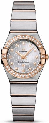 Omega Constellation Brushed Quartz 24mm  Women's Watch 123.25.24.60.52.001