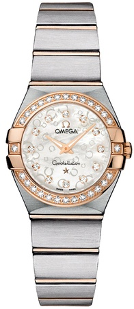 Omega Constellation Brushed Quartz 24mm  Women's Watch 123.25.24.60.55.009