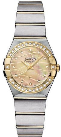 Omega Constellation Brushed Quartz 24mm  Women's Watch 123.25.24.60.57.001