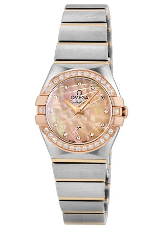 Omega Constellation Brushed Quartz 24mm  Women's Watch 123.25.24.60.57.002