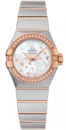 Omega Constellation Automatic Chronometer 27mm  Women's Watch 123.25.27.20.05.002