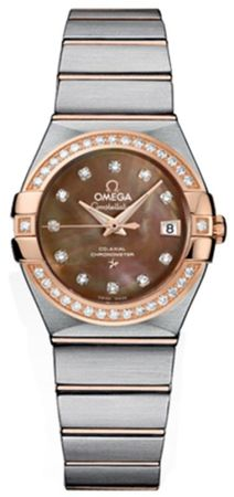 Omega Constellation Automatic Chronometer 27mm  Women's Watch 123.25.27.20.57.001