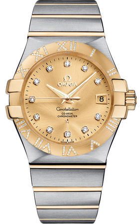 Omega Constellation Automatic Chronometer 35mm  Men's Watch 123.25.35.20.58.002