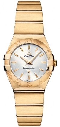 Omega Constellation Brushed Quartz 24mm  Women's Watch 123.50.24.60.02.002