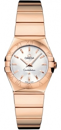 Omega Constellation Polished Quartz 24mm  Women's Watch 123.50.24.60.02.003