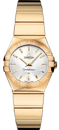 Omega Constellation Polished Quartz 24mm  Women's Watch 123.50.24.60.02.004