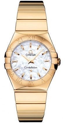 Omega Constellation Polished Quartz 27mm  Women's Watch 123.50.27.60.05.004