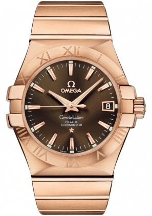 Omega Constellation Automatic Chronometer 35mm  Men's Watch 123.50.35.20.13.001