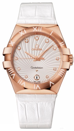 Omega Constellation Quartz 35mm  Women's Watch 123.53.35.60.52.001