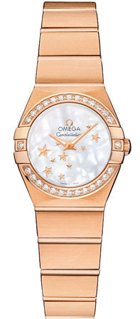 Omega Constellation Star 24mm  Women's Watch 123.55.24.60.05.003