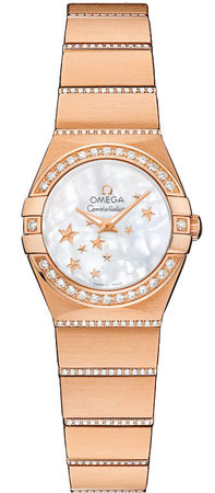 Omega Constellation Star 24mm  Women's Watch 123.55.24.60.05.004