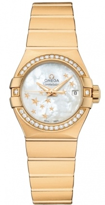 Omega Constellation Automatic Chronometer 27mm  Women's Watch 123.55.27.20.05.001