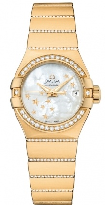 Omega Constellation Automatic Chronometer 27mm  Women's Watch 123.55.27.20.05.002