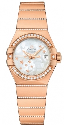 Omega Constellation Automatic Chronometer 27mm  Women's Watch 123.55.27.20.05.004